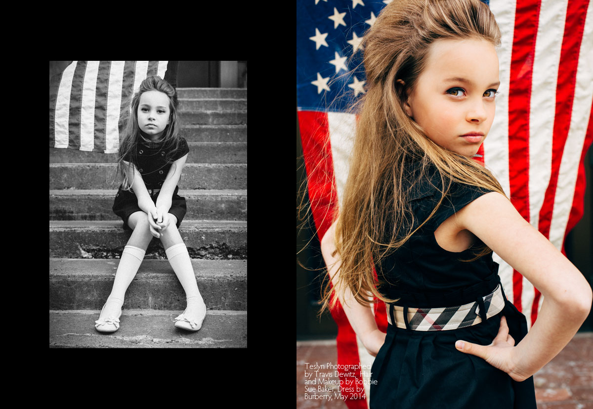teslyn-kid-model-navy-burberry-dress-editorial-look-us-flag
